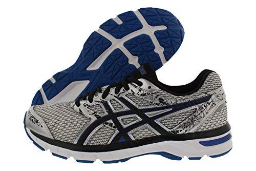 ASICS Gel-Excite 4 Men's Running Shoe, Silver/Black/Imperial, 8 M US