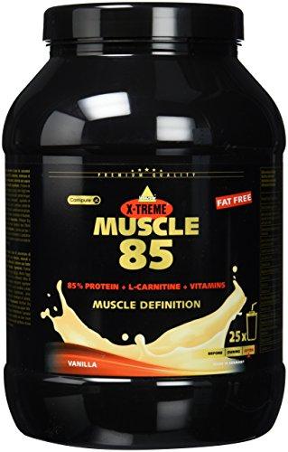 Inkospor X-Treme Muscle 85, Vanille, 1er Pack (1 x 750 g Dose)