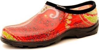 Sloggers 5104RD06 Size 6 Paisley Red Women's Waterproof Rain & Garden Shoe