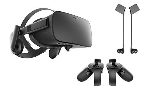 Great Deal! Oculus Rift 3 Items Bundle:Oculus Rift Virtual Reality Headset,Oculus Touch and Oculus Rift Earphones