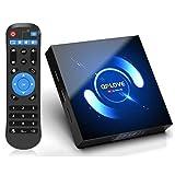 Android TV Box, QPLOVE Q6 TV Box Android 10.0【4GB 128GB】H616 Quad Core Cortex A53 Supporto 3D 6K Dual WiFi 2.4G/5G 100M Ethernet BT5.0 Smart TV Box