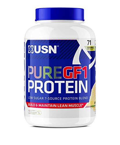 USN Pure Protein GF-1 Protein Shake, Vanilla, 2 Kg