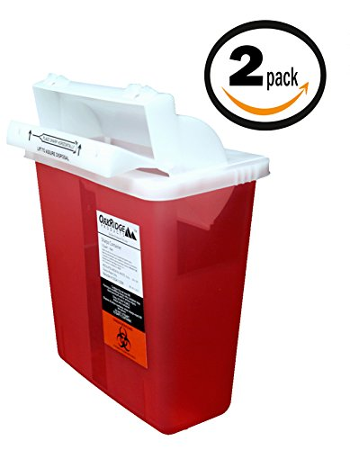 buy  5 Quart Sharps Container (2 Pack) from OakRidge ... Diabetes Care
