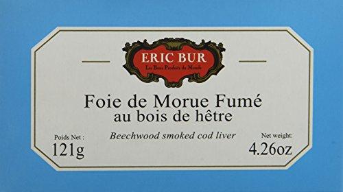 ERIC BUR Foie de Morue Fumé 121 g