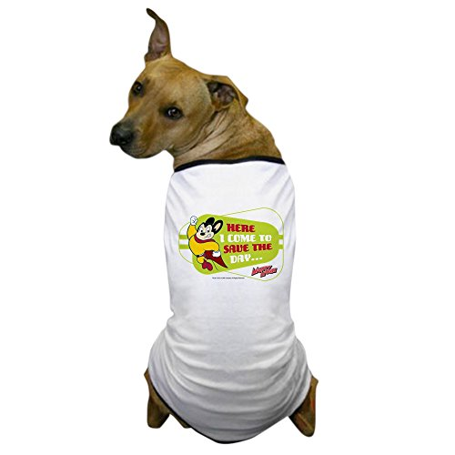 CafePress Mighty Mouse: Save The Day Dog T Shirt Dog T-Shirt, Pet Clothing, Funny Dog Costume