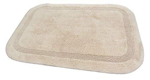 Nicol Badteppich Luxor beige 90x160cm Badematte Badezimmerteppich Badgarnitur Badvorleger Duschmatte Badvorleger
