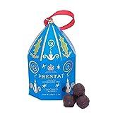 Prestat Dulces Para Regalar Por Navidad: Trufas De Chocolate Negro y Caramelo Salado - 60 Gramos
