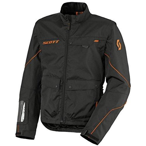 Scott Adventure 2 MX Enduro/Cross Motorrad Jacke schwarz/orange 2017: Größe: XXL (54/56)