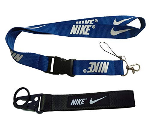 1pc Lanyard 1pc Keychain For Nike Gift Sport Training Outdoor Workout Car Key
