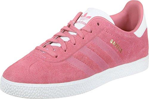adidas Unisex-Kinder Gazelle Fitnessschuhe, Pink (Rostiz/Rostiz/Ftwbla 000), 38 EU