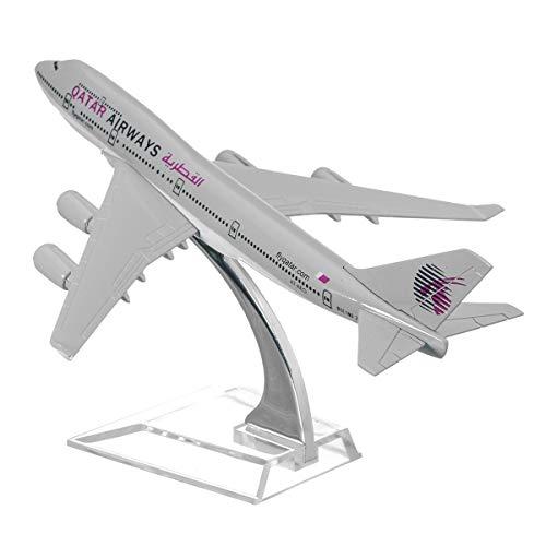 DyNamic B747 Qatar Passagiersvliegtuig Vliegtuig Vliegtuigen Diecast Model Collectie Decoraties