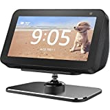 Adjustable Stand for Echo Show 5 & Show 5 2nd Gen, Aluminum 360 Degree Swivel Rotatable Holder for Echo Show 5, Easily Tilt Your Echo Show 5 Forward or Backward to Improve Viewing Angle