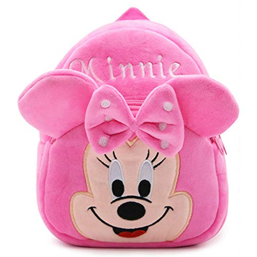 BAIBEI Babyrucksack, Kindergartenrucksack for Kinder Mädchen Kleinkind, Kinderrucksack (Minnie)