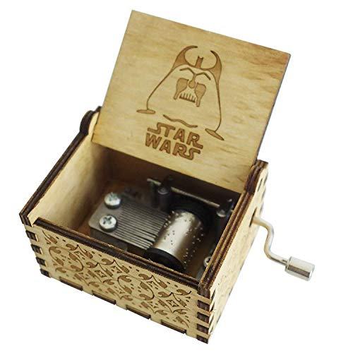 5665 Starwars Music Box Wooden Decorative Music Box Starwars Music Classic Vintage Gift