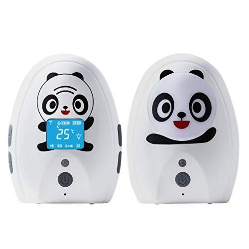 Vigilabebé Bebé Monitor Inteligente con LCD Cámara Visión Nocturna Cámara Vigilancia Bebé Alarma De Detección De Temperatura, 3 Modos De Recordatorio