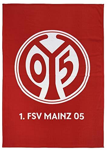 Mainz 05 Fleecedecke Logo