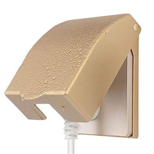 Chlius Universal Impermeable 86 Tipo Socket Cover Socket Cover Socket Caja Impermeable Caja de Enchufe de Pared Panel Interruptor Caja Protector para Cocina Baño