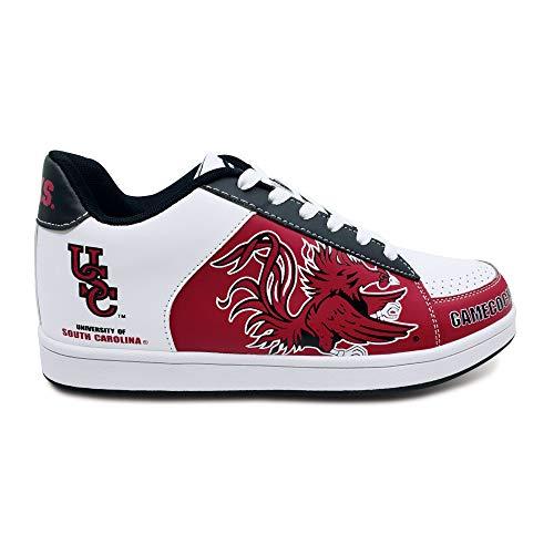 STS Footwear Men's NCAA College Sneakers (South Carolina Gamecocks, 11)
