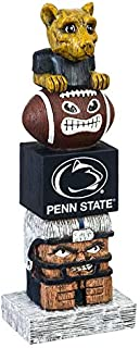 Team Sports America Pennsylvania State University Tiki Totem 12 inch Garden Statue