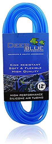 Deep Blue Professional ADB12295 Silicone Air Tubing for Aquarium, 12-Feet