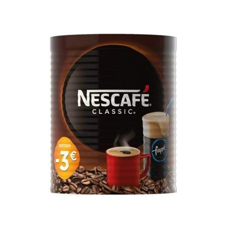 Greek Nescafe Classic Instant Coffee 1.5Kg (2 x 750g)