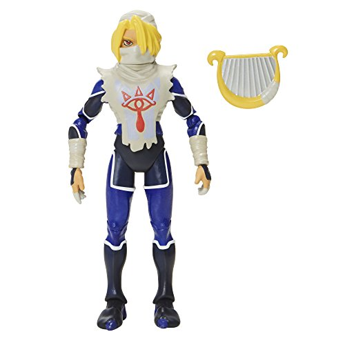 World of Nintendo, The Legend of Zelda: Ocarina of Time, Sheik Action Figure, 4 Inches