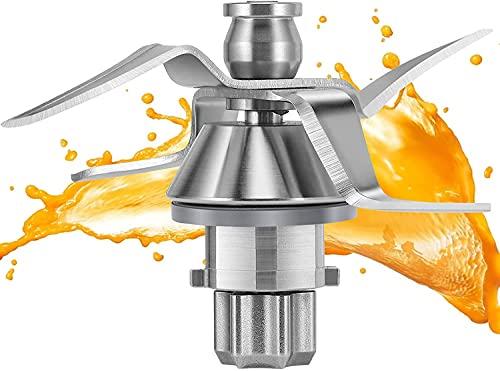 Ymiko Cuchilla Thermomix TM31, Accesorios de la Pieza de Repuesto de la Cuchilla de Acero Inoxidable de la licuadora Apto para Vorwerk Thermomix TM31