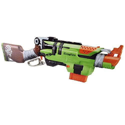 Nerf Nerf N-Strike Elite Slingfire Nerf Gun, grün/braun