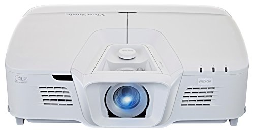 Viewsonic PRO8800WUL Business DLP Beamer (WUXGA, 5.200 ANSI Lumen, 4x HDMI, 2x 10 Watt Lautsprecher, 1.6x optischer Zoom, Lens-Shift) weiß