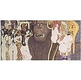 zhangyongjie Gustav Klimt Reproduktionen Beethoven Fries