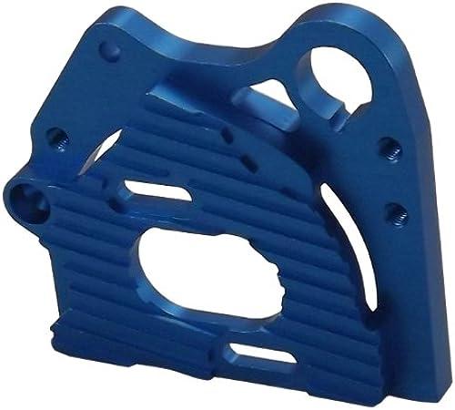Motorhalterung integral Schott (für Tamiya TA05-VDF) Blau SVD-20