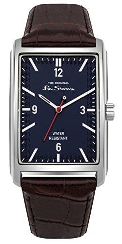 Ben Sherman Herren Datum klassisch Quarz Uhr mit PU Armband BS013UBR