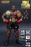 YSJJEFB Action Figures 3 Cabeza Cara tormenta tormenta Boxeo Boxeo Boxeador campeón Figura acción Coleccionable Modelo Juguetes playsets (Color : A No Box)