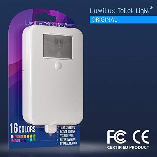 LumiLux Toilet Light Motion Detection