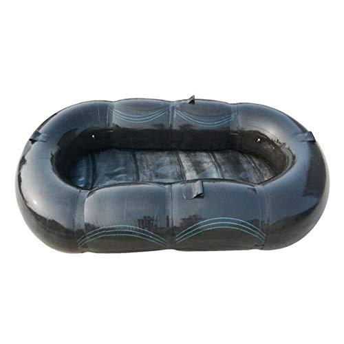 WXH El último Modelo Explorador Barco Inflable Kayak Barco de Pesca Barco Flotante Piscina Juguete, Tabla de esquí, Tiene Capacidad para 4 a 5 Personas, Material de PVC Grueso