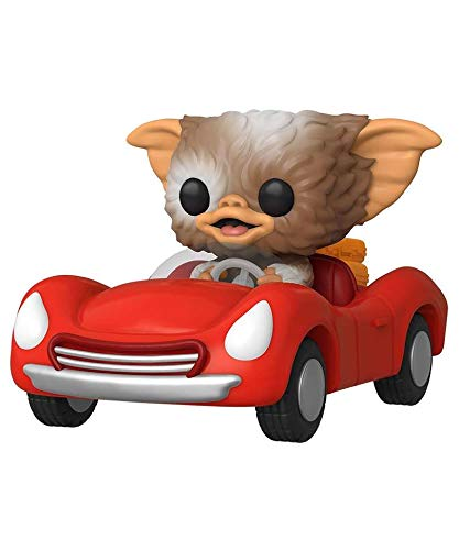 Popsplanet Funko Pop! Rides - Gremlins Movie - Gizmo in Red Car Exclusive to Special Edition EMP #71 Vinyl Figure 10cm Released 2020