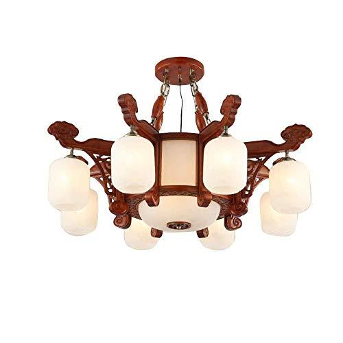Deckenlampe Pendelleuchte Igel Palisander Mahagoni Chinese Chandelier Teehaus Wohnzimmer Kronleuchter Spanien Marmor Massivholz Kronleuchter Antike Lampe