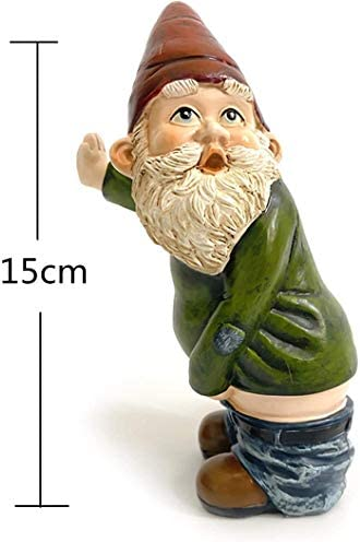 Peeing Gnome Naughty Garden Decoration Ornament Accessories Elves Desk Gift New