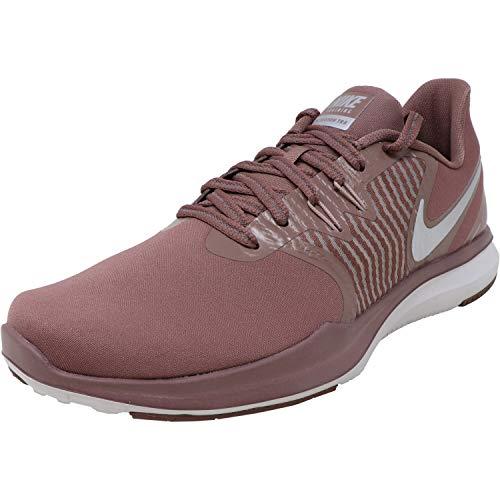 Nike Women's in-Season TR 8 Women's Training Shoes (8.5, Mauve/Metalic-M)