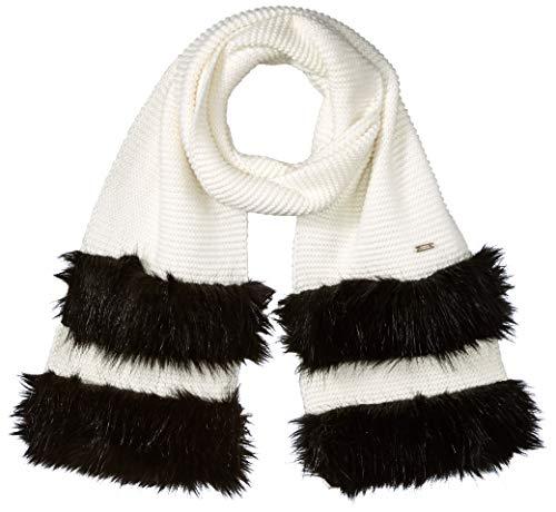 Armani Exchange AX Damen Stripe AX Scarf Schal für kaltes Wetter, Martini, Einheitsgröße