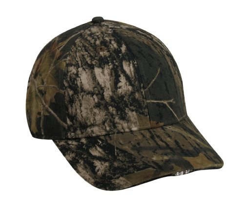 Mossy Oak Outdoor Cap Camouflage Hi-Beam Lighted Cap