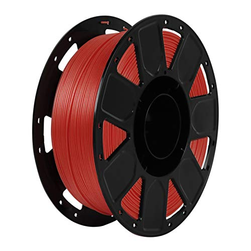 Leeofty Ender 3D Printer PLA Filament 1.75mm 1kg/2.2lbs Filament Dimensional Accuracy +/- 0.02 mm, Red