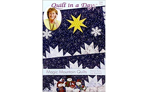 Colcha mágica para montanha Quilt in a Day Ptrn, multi