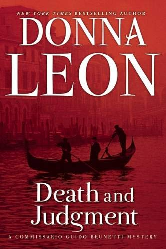 Death and Judgment: A Commissario Guido Brunetti Mystery (The Commissario Guido Brunetti Mysteries (4))