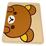 Rilakkuma Gaming Mouse with Stitched Edge Pad Non-Slip Rubber Thick Mouse Pad for Computers Desktops PC Laptop