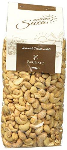 Farinato Anacardi Tostati e Salati, Natura Secca, 1 Kg
