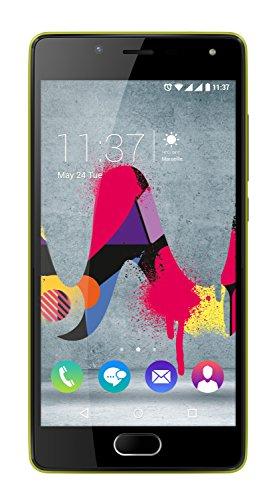 Wiko U Feel Lite Smartphone Dual SIM, 16 GB, Giallo Limone