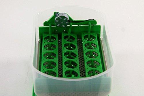 Inkubator VOLLAUTOMATISCH BK15Pro + Zubehör, 15 Eier, Brutautomat, Brutmaschine - 5