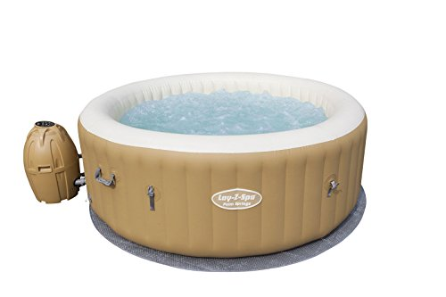 Bestway Lay-Z-Spa Palm Spring, Beige, 1.96x1.96x71 cm