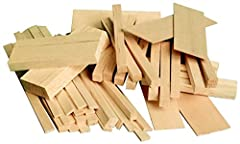 The Sax Balsa Economy Bag contains 1/2 board foot of light-weight balsa in various shapes and sizes. Pieces in the bag generally differ in length from 5 to 8 inches. The larger pieces are ideal for carving while the strips and planks are perfect for ...